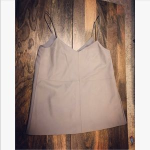 Banana Republic leather top
